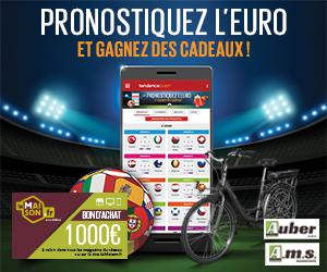Concours pronostics euro 2021 avec Tendance Ouest