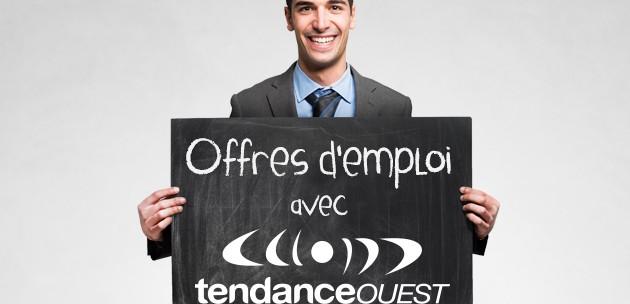 Les dernières offres d'emploi en Normandie avec Tendance Ouest