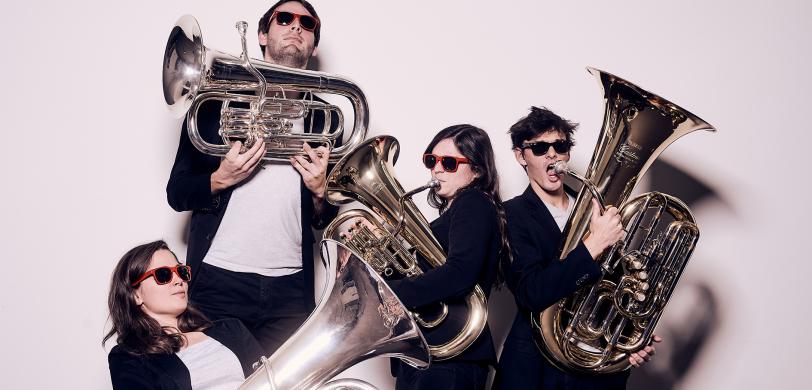 Quatuor Ellius, Tubas Lauréats