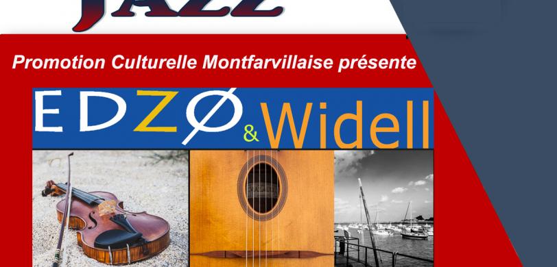 Concert de Jazz manouche et chansons swing avec Edzo ans Widell