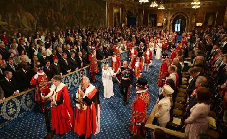 Royaume uni le r f rendum sur l 39 ue au coeur du discours de la reine - Chambre des lords angleterre ...