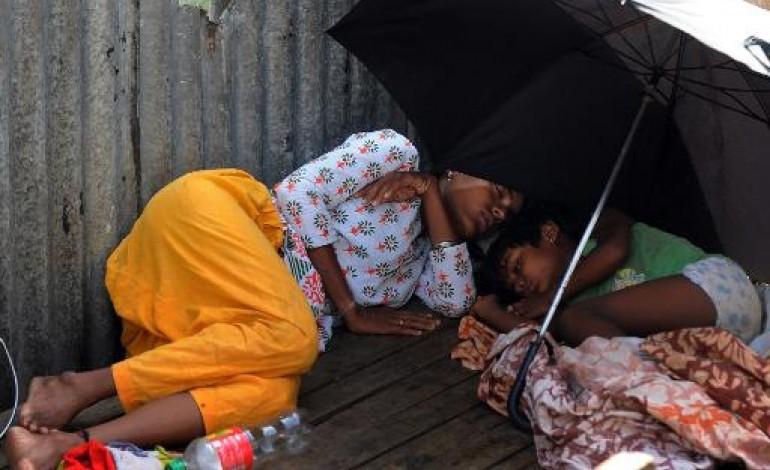 New Delhi (AFP). Canicule en Inde: près de 1.500 morts, les hôpitaux submergés