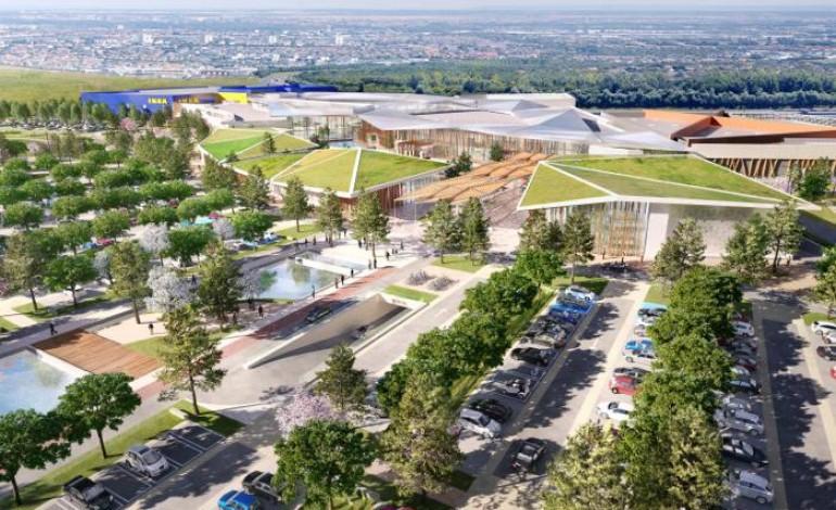 Autour D Ikea La Galerie Commerciale Ouvrira Fin 2018 à Fleury Sur Orne