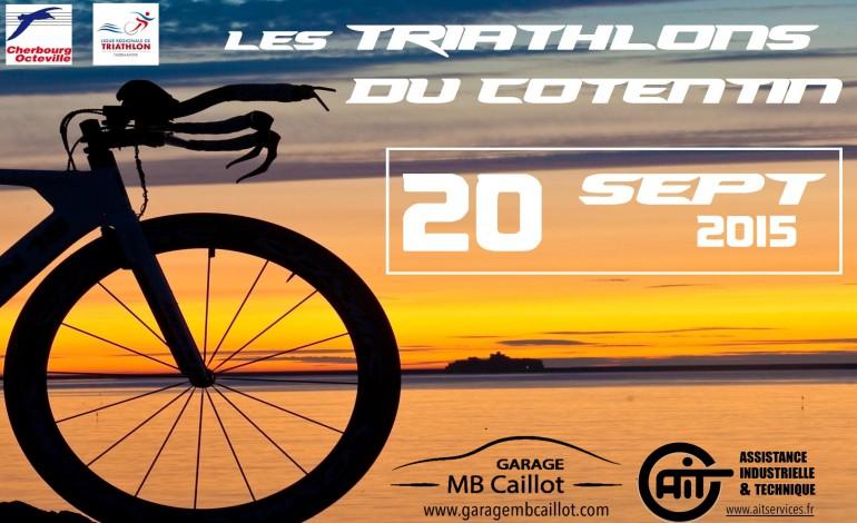 Les Triathlons du Cotentin, c'est ce week-end !