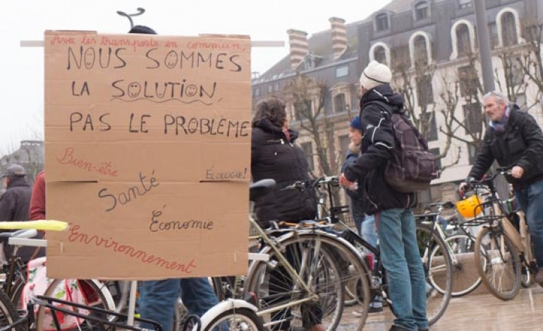 Rouen : les cyclistes en colère