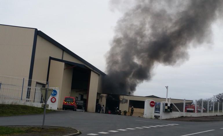 La Meauffe : incendie sur le site de l'ancienne laiterie Claudel