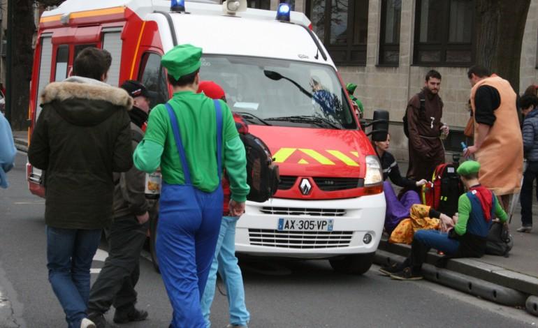 Carnaval étudiant de Caen : 340 personnes prises en charge par les secours