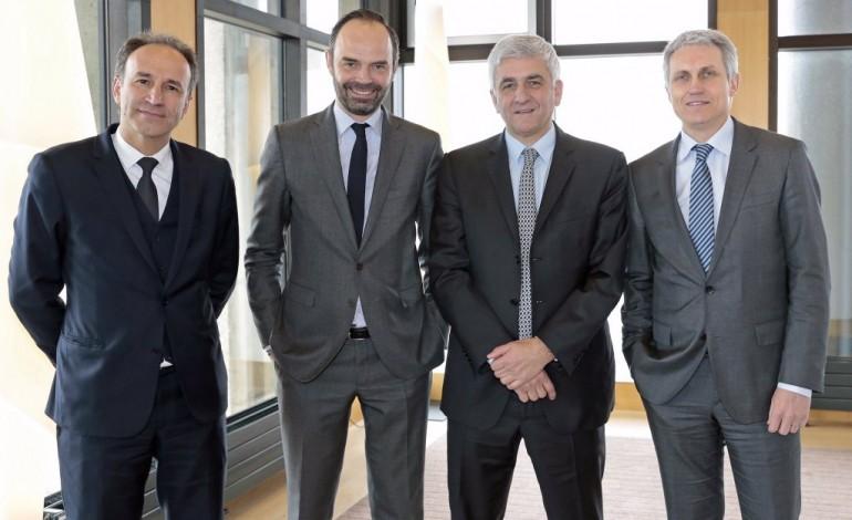 Le bilan de la rencontre entre Hervé Morin et les présidents des trois grandes agglos normandes