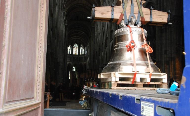 Les cloches de retour dans la cathédrale de Rouen