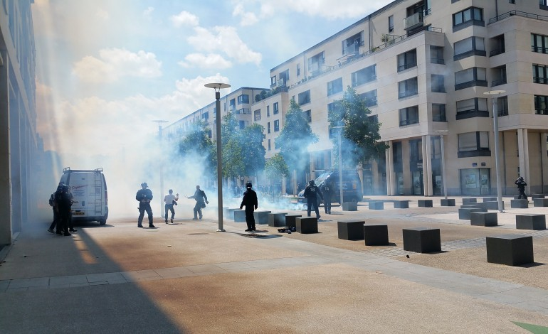 Loi Travail : un manifestant roué de coups à Caen, la police des polices saisie