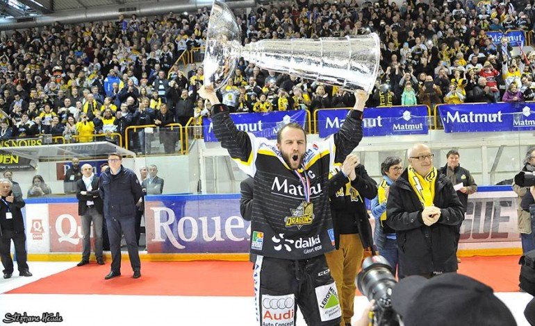 Hockey sur glace : le capitaine Patrick Coulombe prolonge à Rouen