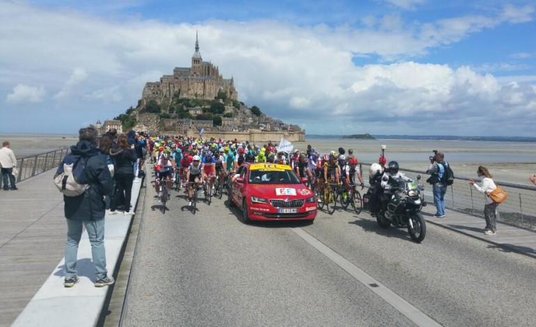 Tour de France : près de 3 millions de téléspectateurs devant l'étape le Mont-Saint-Michel / Utah Beach
