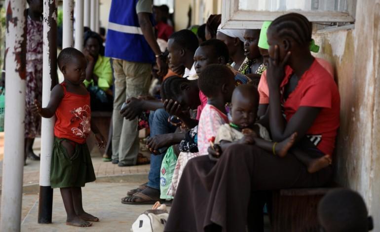 Près d'un million de Sud-Soudanais réfugiés, dans des conditions difficiles