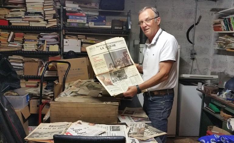 Calvados claude martin est un collectionneur de journaux devant l 39 ternel - Tendance des journaux ...