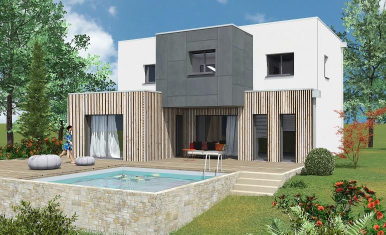 En Normandie, les maisonsà ossature bois, plusécologiques, se développent # Maison Ossature Bois Normandie