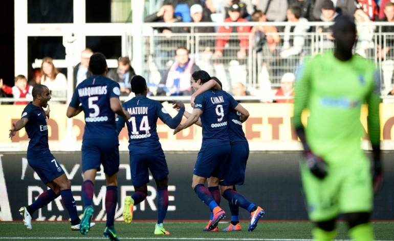 Ligue 1: le Paris SG fait le job à Nancy et remonte à la 2e place