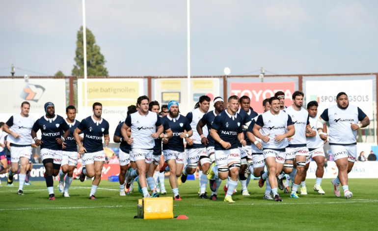 Rugby:  Racing 92, la reconstruction européenne
