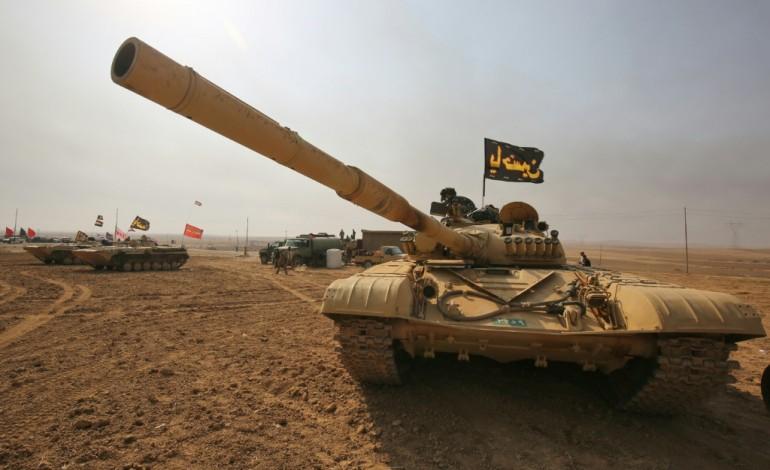 Les forces irakiennes observent une pause dans l'offensive sur Mossoul