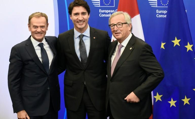 Libre-échange: l'UE et le Canada ont signé, le plus dur commence