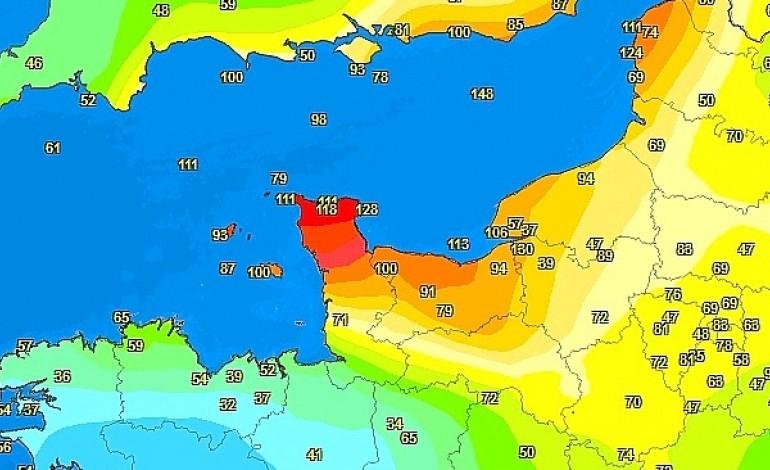 Tempête Des Vents Jusquà 155 Kmh Enregistrés En Normandie