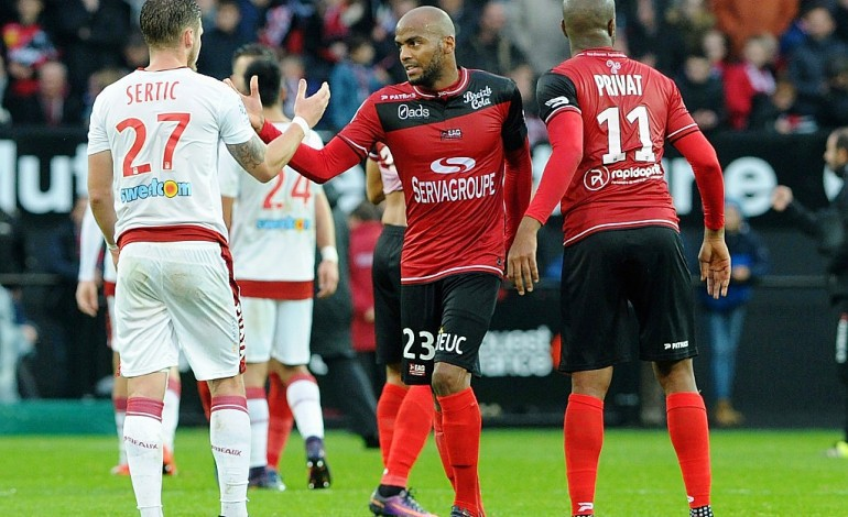 Ligue 1: Guingamp sauve le nul face à Bordeaux
