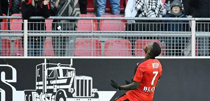 Ligue 1: Ntep offre la 4e place à Rennes contre Saint-Etienne