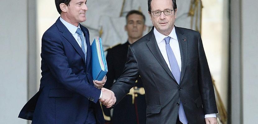 Hollande et Valls, bientôt la fin de partie