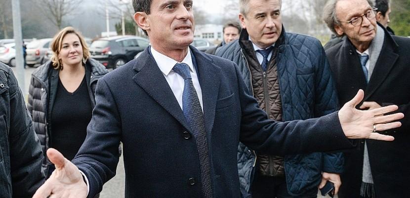 Saint-Lô. Retour sur terre pour le candidat Valls en campagne