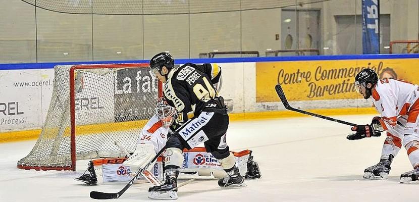 Hockey sur glace : les Dragons de Rouen perdent contre le Gamyo d'Epinal