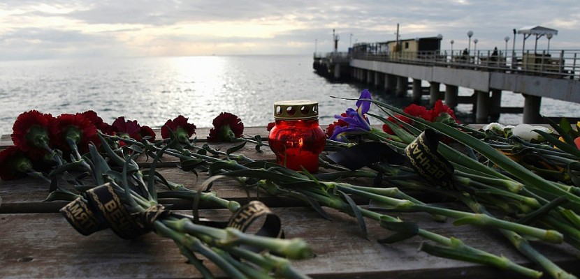 Crash en Russie: la principale boîte noire retrouvée en mer Noire