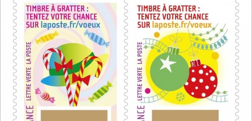 Jeu Et Cadeaux La Poste Lance Des Timbres A Gratter