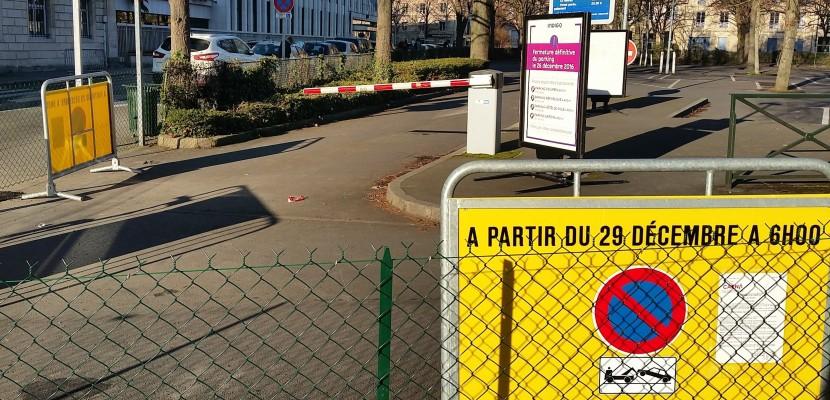 Caen il n 39 est plus possible de se garer sur le parking for Parking exterieur