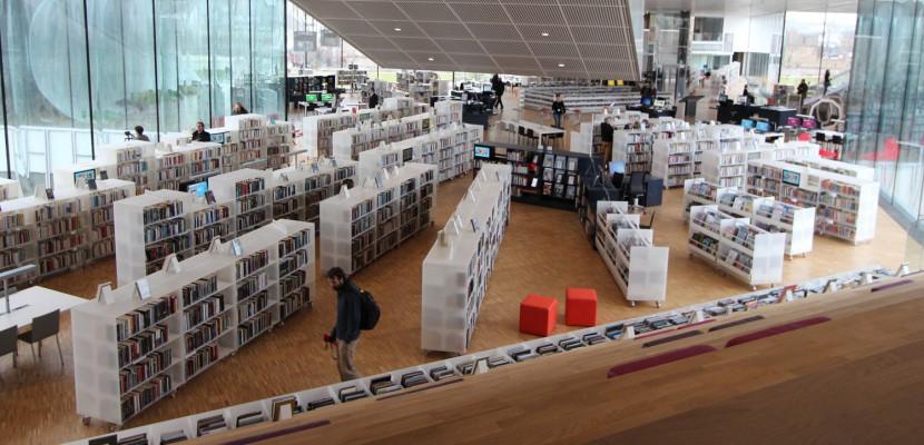 Caen. Événement : les premières images de la nouvelle bibliothèque de Caen [Photos et vidéo]
