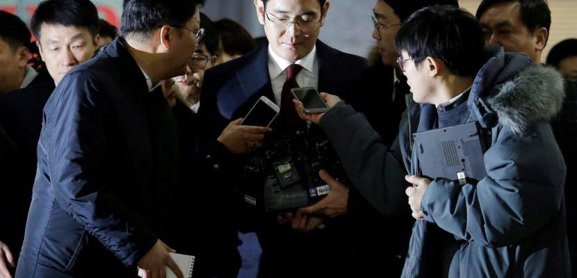 Corée du Sud: l'arrestation de l'hériter de Samsung demandée