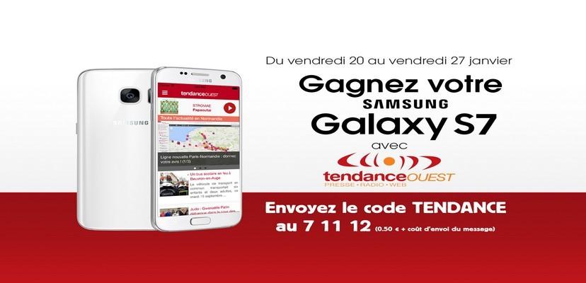 Gagnez votre Samsung Galaxy S7 avec Tendance Ouest