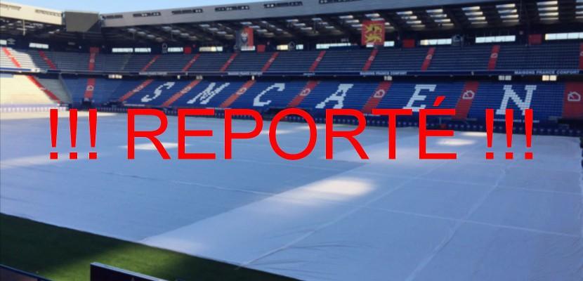 FOOTBALL (Ligue 1. 21e journée) : Reporté, le match Caen-Nancy ne se jouera pas ce week-end !