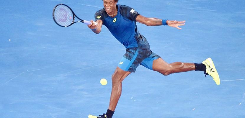 Open d'Australie: Monfils éliminé par Nadal en huitièmes de finale