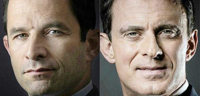 Primaire socialiste: Hamon et Valls dans un duel unique sous tension