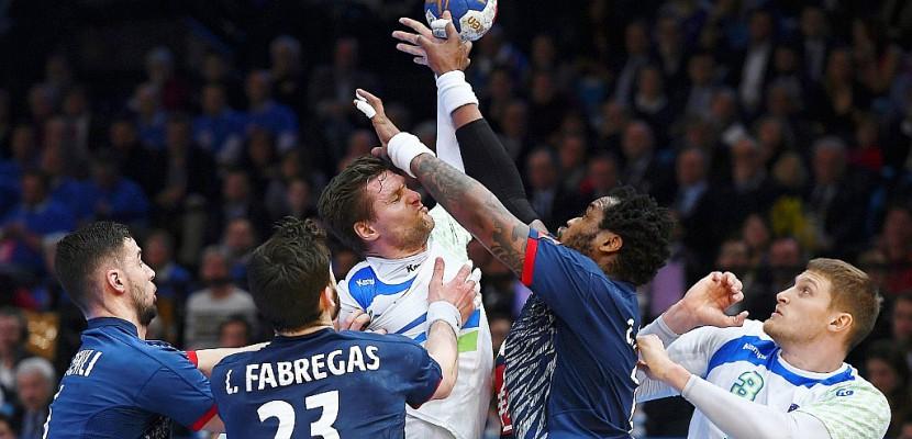 Hand: les Français en finale du Mondial en battant la Slovénie