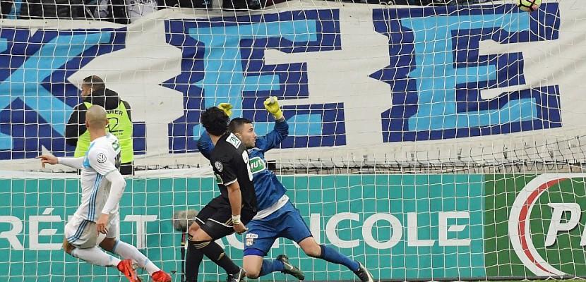 Coupe de France: l'OM sort Lyon au bout de la prolongation