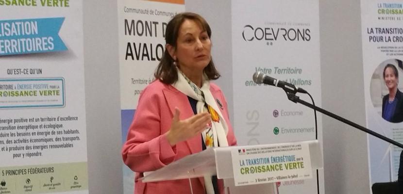 Ségolène Royal vient encourager les territoires à énergie positive