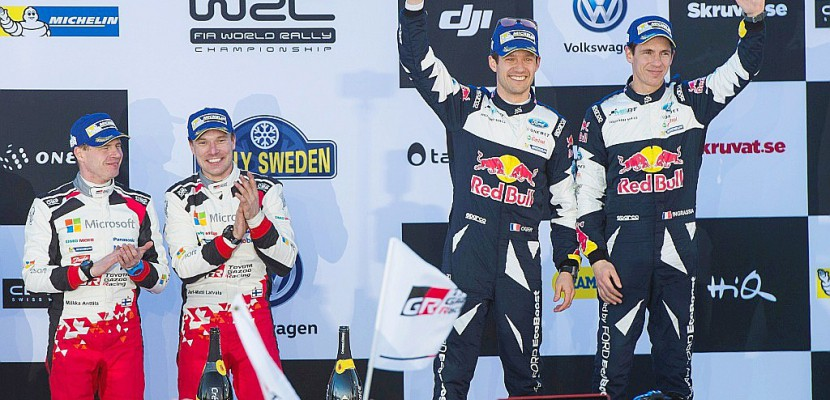 Rallye de Suède: Latvala frappe fort et dépasse Ogier
