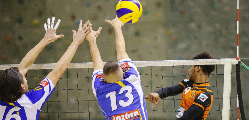 Volley-ball : Canteleu s'incline face au leader