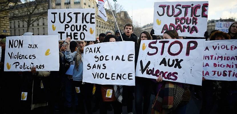 Affaire Théo: 2.300 manifestants à Paris contre les violences policières