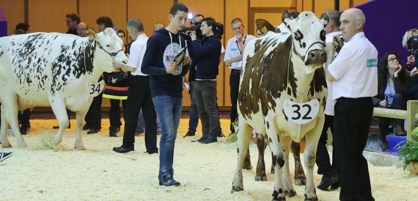Salon de l 39 agriculture deux jeunes de la manche en - Salon de l agriculture resultat concours ...