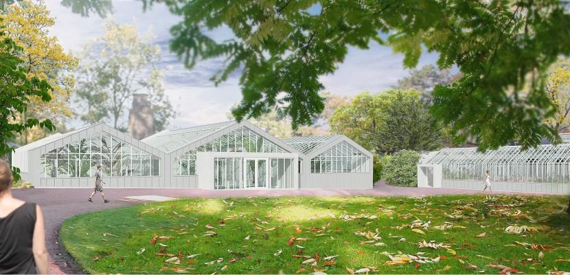 les serres du jardin des plantes de rouen font peau neuve et s 39 ouvrent au public. Black Bedroom Furniture Sets. Home Design Ideas
