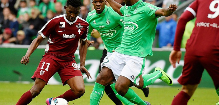 Ligue 1: Perrin providentiel, mais Saint-Etienne n'avance plus