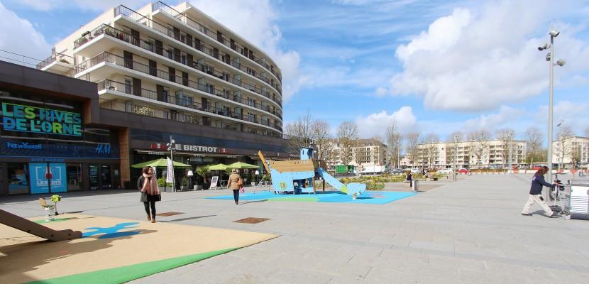 A caen la plage arrive bient t en centre ville for Piscine caen