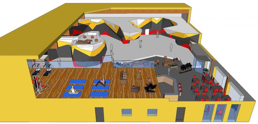 une salle d 39 escalade de bloc ouvrira en septembre 2017 mondeville pr s de caen. Black Bedroom Furniture Sets. Home Design Ideas