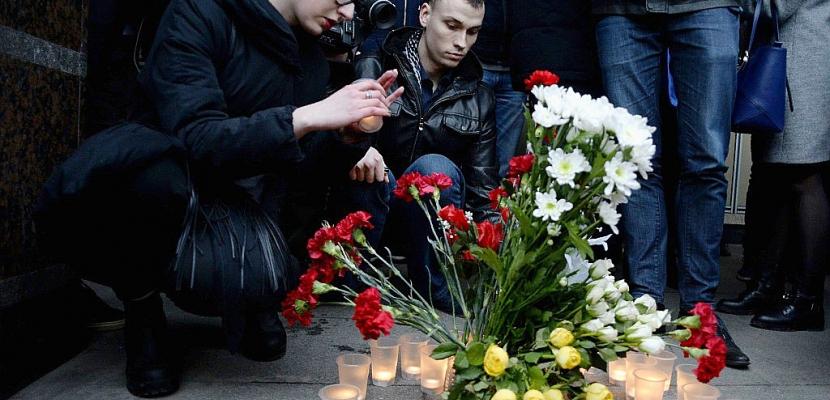 Saint-Pétersbourg endeuillée par un probable attentat kamikaze
